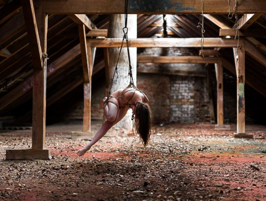 At the red-floored attic again, with Fraeulein Kim