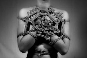 frontal net weaving